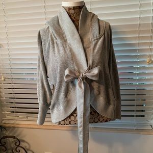 Juicy couture size large color gray Like new